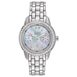 Citizen Women's FD1030-56Y Eco-Drive Silhouette Crystal Watch|https://ak1.ostkcdn.com/images/products/10649484/P17716582.jpg?impolicy=medium