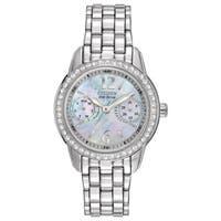 Citizen Women's FD1030-56Y Eco-Drive Silhouette Crystal Watch
