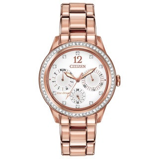 Citizen Women's FD2013-50A Eco-Drive Silhouette Crystal Watch