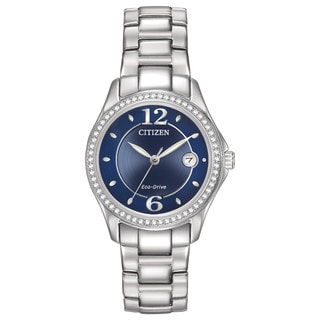 Citizen Women's FE1140-86L Eco-Drive Silhouette Crystal Watch