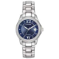 Citizen Women's FE1140-86L Eco-Drive Silhouette Crystal Watch