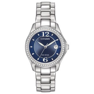 Citizen Women's Eco-Drive Silhouette Crystal Watch