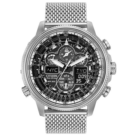 Citizen Men's JY8030-83E 'Promaster' Chronograph Stainless Steel Watch - Multi