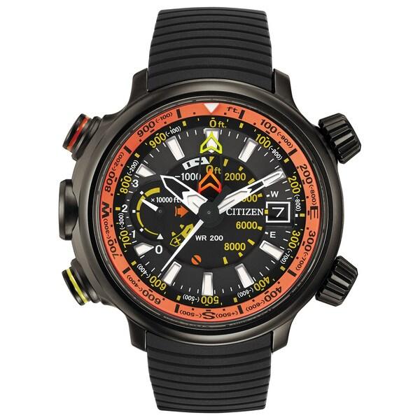 4cb4cda636e Shop Citizen Men s Eco-Drive Promaster Altichron Watch - Free Shipping  Today - Overstock - 10649496