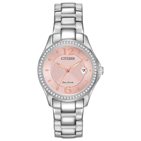 ff747864d Shop Citizen Women's FE1140-86X Eco-Drive Silhouette Crystal Watch ...
