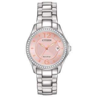Citizen Women's FE1140-86X Eco-Drive Silhouette Crystal Watch|https://ak1.ostkcdn.com/images/products/10649504/P17716586.jpg?impolicy=medium