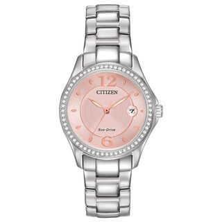 Citizen Women's FE1140-86X Eco-Drive Silhouette Crystal Watch