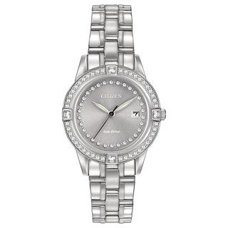 Citizen Women's FE1150-58H Eco-Drive Silhouette Crystal Watch