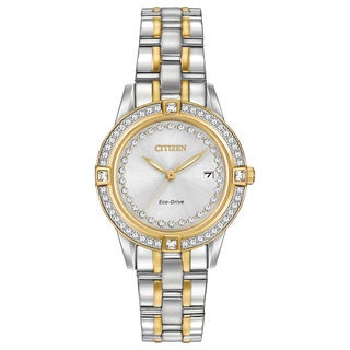 Citizen Eco-Drive Women's FE1154-57A Silhouette Crystal Watch