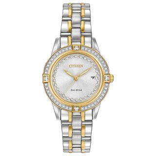 Citizen Women's FE1154-57A Eco-Drive Silhouette Crystal Watch