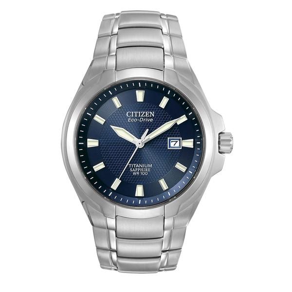 403d45b53 Shop Citizen Men's Eco-Drive Titanium Watch - Free Shipping Today ...