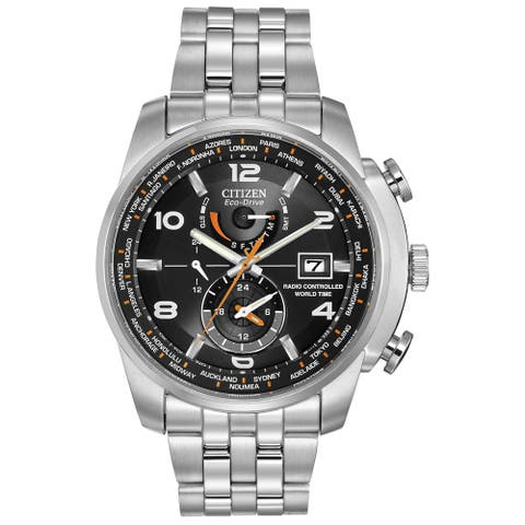 Citizen Men's Eco-Drive World Time AT Watch