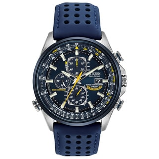 Citizen Men's AT8020-03L Eco-Drive Blue Angels World Chrono A-T Watch