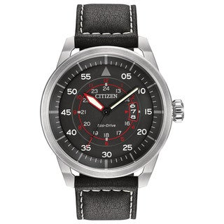 Citizen Men's AW1361-01E Eco-Drive Avion Watch
