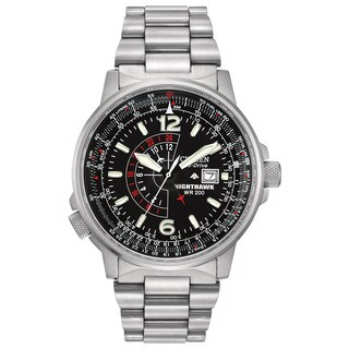 Citizen Men's BJ7000-52E Eco-Drive Nighthawk Watch