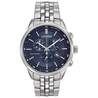 Citizen Eco-Drive Men's Blue Dial Watch