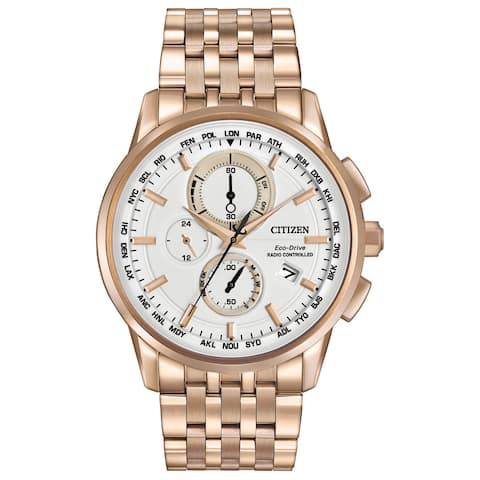Citizen Men's Eco-Drive World Chronograph AT Watch