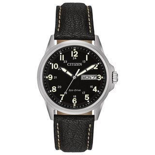 Citizen Men's AW0040-01E Eco-Drive Straps Watch