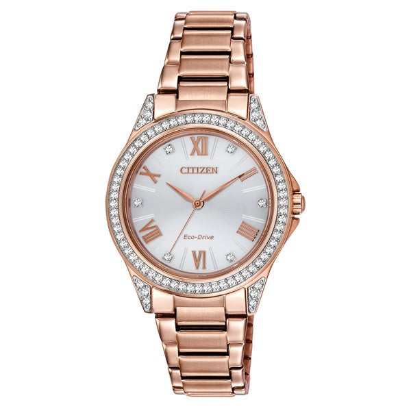 0aad7dcf6 Shop Drive From Citizen Women's Eco-Drive POV Watch - Free Shipping Today -  Overstock - 10649577