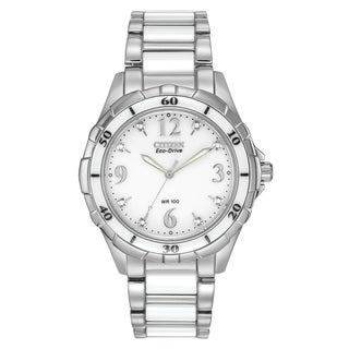 Citizen Women's EM0030-59A Eco-Drive Ceramic Watch