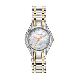 Citizen Eco-Drive Women's Silhouette Watch