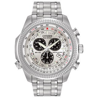 Citizen Men's BL5400-52A Eco-Drive Perpetual Calendar Chronograph Watch