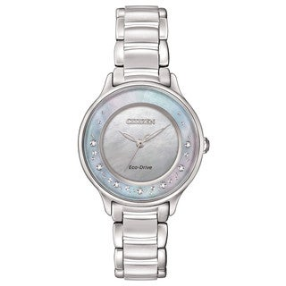 Citizen Women's EM0380-81N Eco-Drive Circle of Time Watch