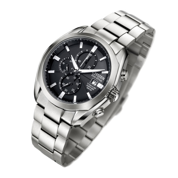 328058e01 Shop Citizen Men's Eco-Drive Titanium Watch - Free Shipping Today -  Overstock - 10649632