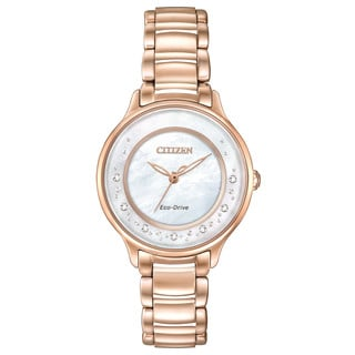 Citizen Women's EM0382-86D Eco-Drive Circle of Time Watch