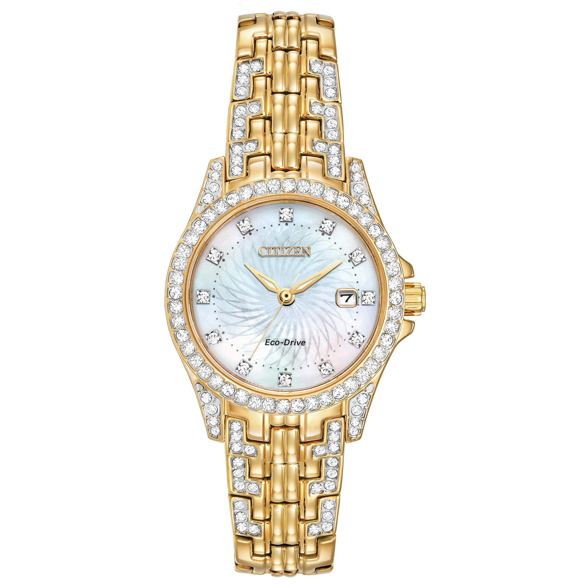 Citizen Women's EW1222-84D Eco-Drive Silhouette Crystal W...
