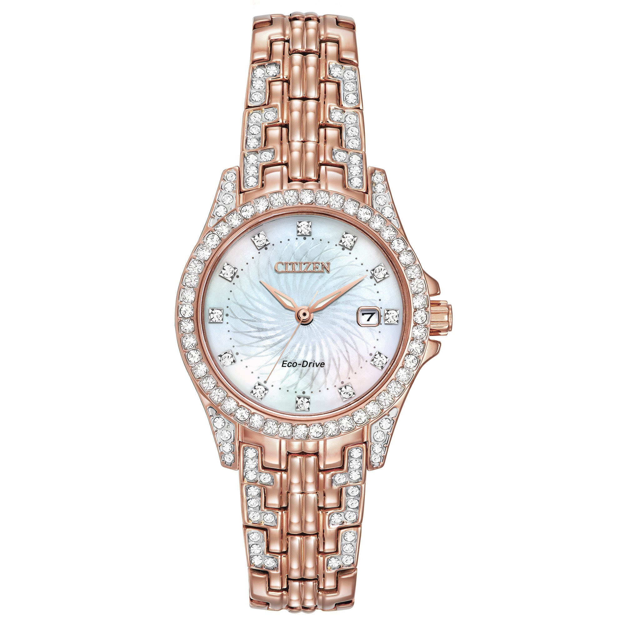 Citizen Eco-Drive Women's Silhouette Crystal Watch (Class...