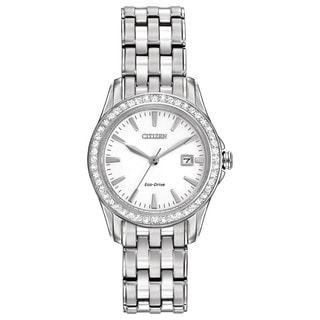 Citizen Eco-Drive Women's EW1901-58A Silhouette Crystal Watch