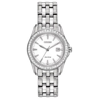 Citizen Eco-Drive Women's EW1901-58A Silhouette Crystal Watch