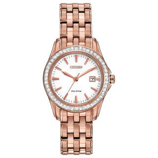 Citizen Eco-Drive Women's EW1903-52A Silhouette Crystal Watch