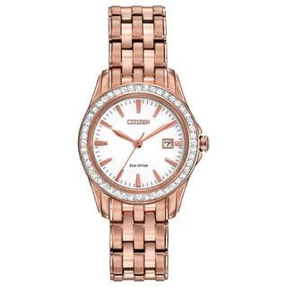 Citizen Women's EW1903-52A Eco-Drive Silhouette Crystal Watch