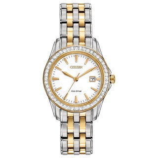 Citizen Women's EW1908-59A Eco-Drive Silhouette Crystal Watch