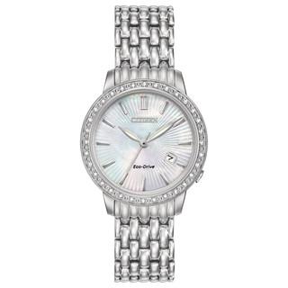 Citizen Women's EW2280-58D Eco-Drive Diamond Watch