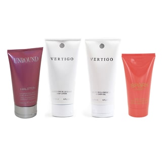Women's 4-piece Shower Gel & Body Lotion Collection