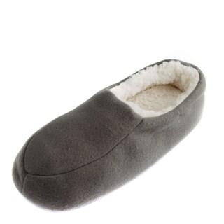 Leisureland Men's Fleece Lined Cozy Slippers