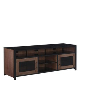 "Bell'O BFA63-94541-MC1 Bedford 63"" TV Stand for TVs up to 70"", Cocoa"