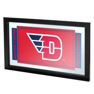 University of Dayton Logo and Mascot Framed Mirror