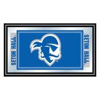 Seton Hall University Logo and Mascot Framed Mirror