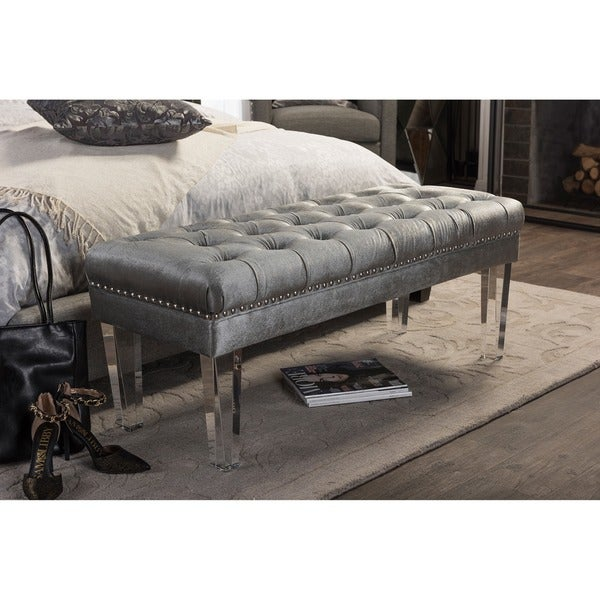 Shop Baxton Studio Edna Modern Contemporary Grey