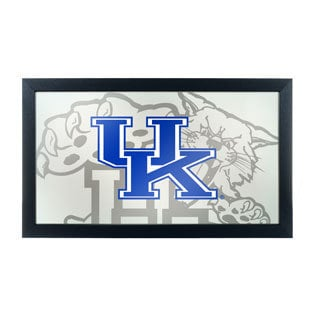 University of Kentucky Wildcats Framed Logo Mirror
