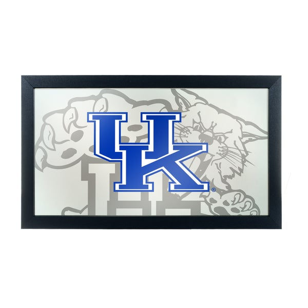 University of Kentucky Wildcats Framed Logo Mirror - Free Shipping ...