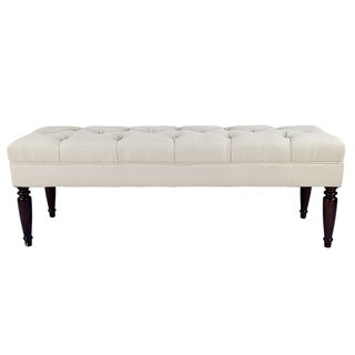 MJL Furniture Claudia Diamond Tuft Upholstered Long Bench