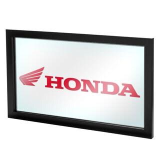 Honda Wing Logo Framed Logo Mirror