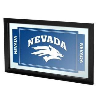 University of Nevada Framed Logo Mirror