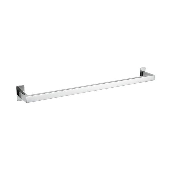 "Cortesi Home Rikke Contemporary Stainless Steel Towel Bar 24"", Chrome"