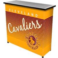 Cleveland Cavaliers Hardwood Classics NBA Portable Bar w/Case